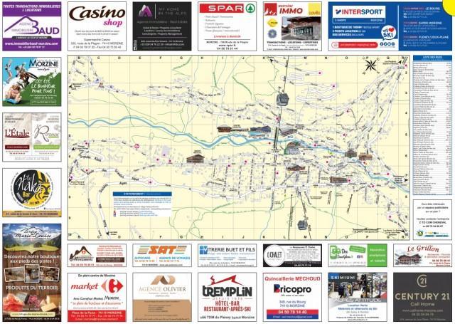 Plan du village / Village Map