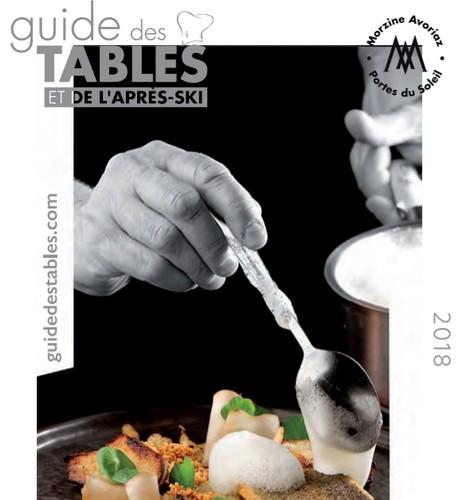 Guide des Tables / Restaurants' guide 2018