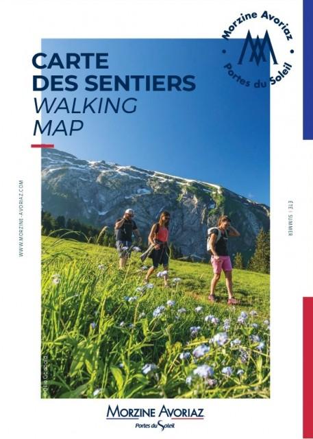 Carte des sentiers / Walking map